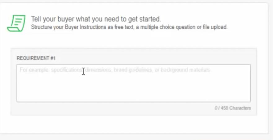Crie um perfil no Fiverr